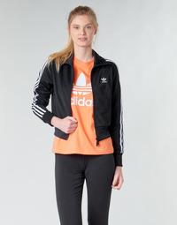 Υφασμάτινα Γυναίκα Σπορ Ζακέτες adidas Originals FIREBIRD TT Black