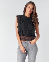 Υφασμάτινα Γυναίκα Μπλούζες Only ONLKARO Black