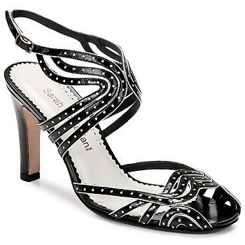 Παπούτσια Γυναίκα Σανδάλια / Πέδιλα Sarah Chofakian WINGS Black / Dore