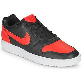 Παπούτσια Άνδρας Χαμηλά Sneakers Nike EBERNON LOW Black / Red