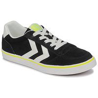 Παπούτσια Παιδί Χαμηλά Sneakers Hummel STADIL 3.0 JR Black / Άσπρο