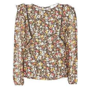 Υφασμάτινα Γυναίκα Μπλούζες Betty London NELIA Black / Multicolour