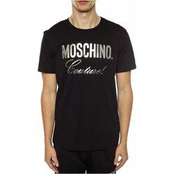 Υφασμάτινα Άνδρας T-shirt με κοντά μανίκια Love Moschino ZPA0715 Black