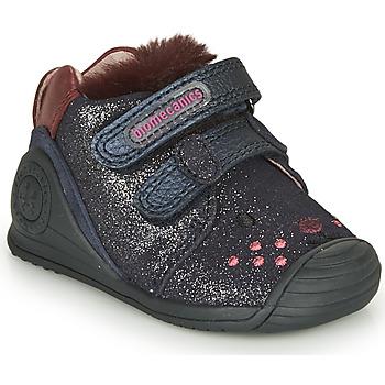 Παπούτσια Κορίτσι Χαμηλά Sneakers Biomecanics BOTIN ELASTICO Marine