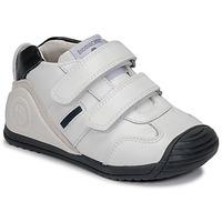 Παπούτσια Αγόρι Χαμηλά Sneakers Biomecanics BIOGATEO SPORT Άσπρο