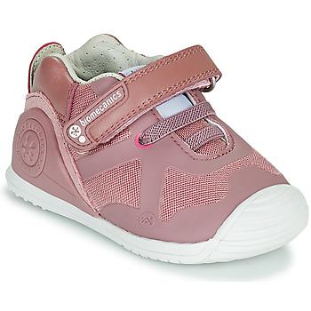 Παπούτσια Κορίτσι Χαμηλά Sneakers Biomecanics ZAPATO ELASTICO Ροζ