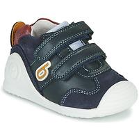 Παπούτσια Αγόρι Χαμηλά Sneakers Biomecanics ZAPATO SPORT VELCRO Marine