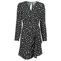 Υφασμάτινα Γυναίκα Κοντά Φορέματα Betty London NOELINE Black / Άσπρο