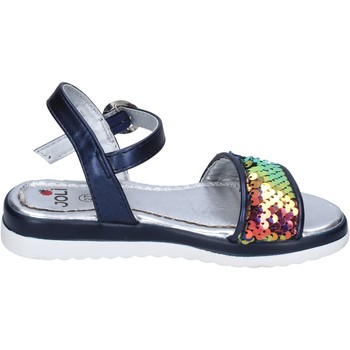 Παπούτσια Κορίτσι Σανδάλια / Πέδιλα Joli sandali pelle sintetica paillettes Blu