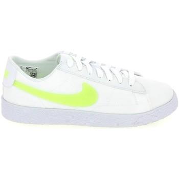 Xαμηλά Sneakers Nike Blazer low Jr Blanc Jaune 1009544400016 [COMPOSITION_COMPLETE]