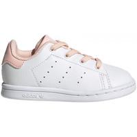 Παπούτσια Παιδί Χαμηλά Sneakers adidas Originals Stan smith el i Άσπρο