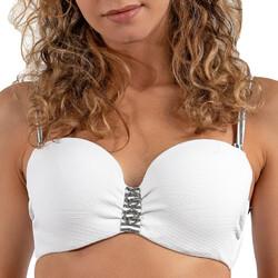 Υφασμάτινα Γυναίκα Μαγιό μόνο το πάνω ή κάτω μέρος LPB Woman 0011 / HAUT BOURGEOIS Άσπρο