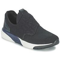 Παπούτσια Γυναίκα Χαμηλά Sneakers Ash SODA Black / Μπλέ