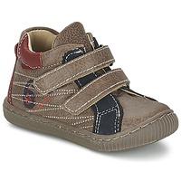 Παπούτσια Αγόρι Ψηλά Sneakers Citrouille et Compagnie THEO TAUPE