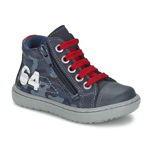 Παπούτσια Αγόρι Ψηλά Sneakers Citrouille et Compagnie MINAI Μπλέ
