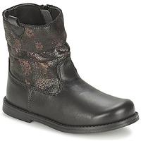 Παπούτσια Κορίτσι Μπότες για την πόλη Citrouille et Compagnie JOUGRI Black