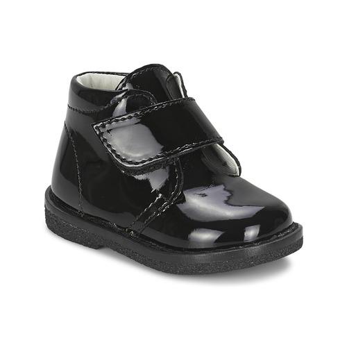 Παπούτσια Κορίτσι Μπότες Citrouille et Compagnie MERLE Black