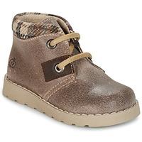 Παπούτσια Αγόρι Μπότες Citrouille et Compagnie ZANZIB Taupe
