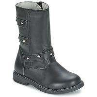 Παπούτσια Κορίτσι Μπότες για την πόλη Citrouille et Compagnie ELZA Black