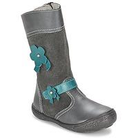 Παπούτσια Κορίτσι Μπότες για την πόλη Citrouille et Compagnie RINDAR Grey