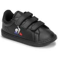 Παπούτσια Παιδί Χαμηλά Sneakers Le Coq Sportif COURTSET INF Black