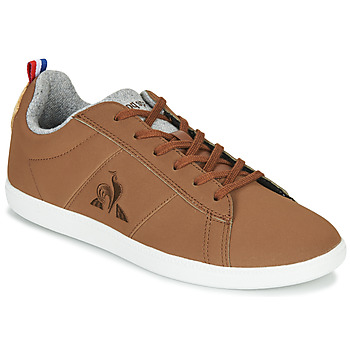 Παπούτσια Χαμηλά Sneakers Le Coq Sportif COURTCLASSIC GS Brown