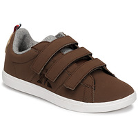 Παπούτσια Παιδί Χαμηλά Sneakers Le Coq Sportif COURTCLASSIC PS Brown