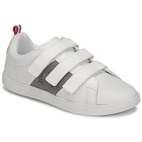 Παπούτσια Παιδί Χαμηλά Sneakers Le Coq Sportif COURTCLASSIC PS Άσπρο