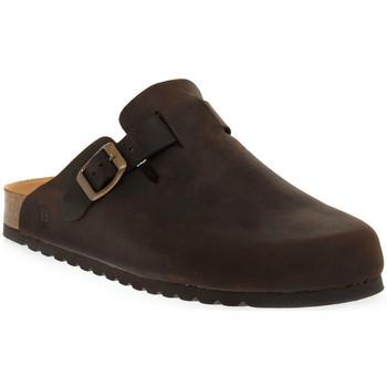 Παπούτσια Γυναίκα Σαμπό Bioline 1900 MORO INGRASSATO Marrone