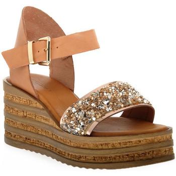 Παπούτσια Γυναίκα Σανδάλια / Πέδιλα Sono Italiana VACCHETTA GLITTER Grigio