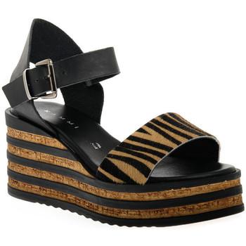 Παπούτσια Γυναίκα Σανδάλια / Πέδιλα Sono Italiana CRAST NERO Nero