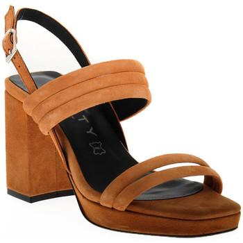 Παπούτσια Γυναίκα Σανδάλια / Πέδιλα Vienty TAN JIM Marrone