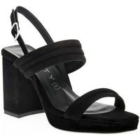 Παπούτσια Γυναίκα Σανδάλια / Πέδιλα Vienty NERO JIM Nero