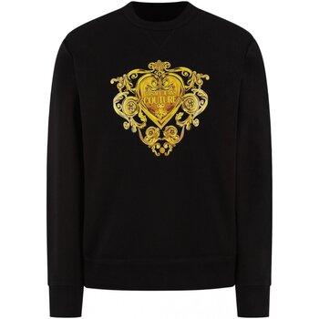 Υφασμάτινα Άνδρας Φούτερ Versace B7GVB7EB Black