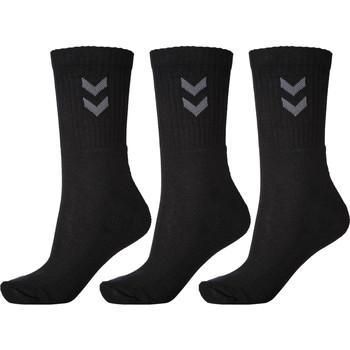 Αξεσουάρ Κάλτσες Hummel Lot de 3 paires de chaussettes  Basic noir