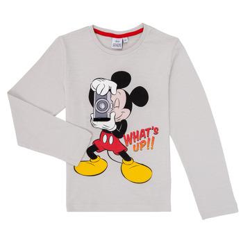 Υφασμάτινα Αγόρι Μπλουζάκια με μακριά μανίκια TEAM HEROES MICKEY Grey