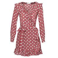 Υφασμάτινα Γυναίκα Κοντά Φορέματα MICHAEL Michael Kors LUX PINDOT WRAP DRS Bordeaux