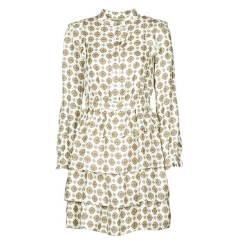 Υφασμάτινα Γυναίκα Κοντά Φορέματα MICHAEL Michael Kors LUX MEDLN PINDOT DRS Beige