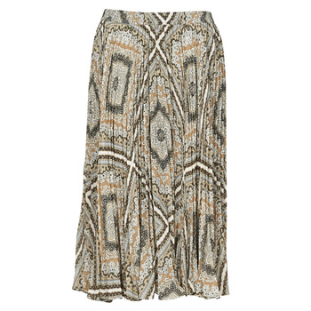 Υφασμάτινα Γυναίκα Φούστες MICHAEL Michael Kors MEDALLION PLTED SKIRT Multicolour