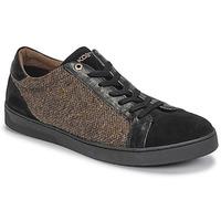 Παπούτσια Άνδρας Χαμηλά Sneakers Kost CYCLISTE 55 Black / Brown