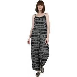 Υφασμάτινα Γυναίκα Ολόσωμες φόρμες / σαλοπέτες Molly Bracken MBG607E20 Black