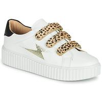 Παπούτσια Γυναίκα Χαμηλά Sneakers Vanessa Wu BASKETS À SCRATCHS ANIMALIER Άσπρο / Leopard