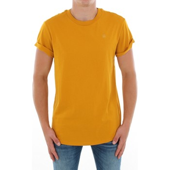 T-shirt με κοντά μανίκια G-Star Raw SHELO R T SS DK GOLD [COMPOSITION_COMPLETE]