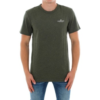 T-shirt με κοντά μανίκια G-Star Raw RODIS R T SS DK SHAMROCK HTR [COMPOSITION_COMPLETE]