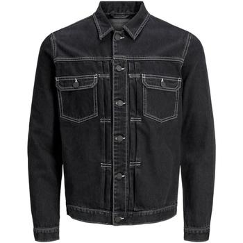 Τζιν Μπουφάν/Jacket Jack & Jones 12169080 JJIWILLIAM JJJACKET AM 985 BLACK DENIM