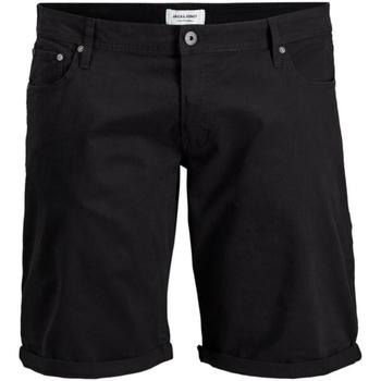 Shorts & Βερμούδες Jack & Jones 12168172 JJIRICK ORG SHORT AKM 799 PS BLACK [COMPOSITION_COMPLETE]