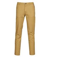 Υφασμάτινα Άνδρας Παντελόνια Chino/Carrot Selected SLHNEW PARIS Camel