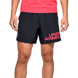 Υφασμάτινα Άνδρας Σόρτς / Βερμούδες Under Armour Speed Stride Graphic 7 Shorts Noir