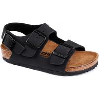Παπούτσια Παιδί Σανδάλια / Πέδιλα Birkenstock Milano bf Μαύρο