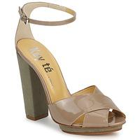 Παπούτσια Γυναίκα Σανδάλια / Πέδιλα Keyté KRISTAL-26722-TAUPE-FLY-3 Taupe